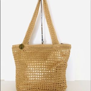 The Sak Riviera Hand Crocheted Tote Mid-Size NWT